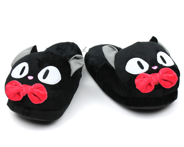 Jiji the Black Cat Slippers