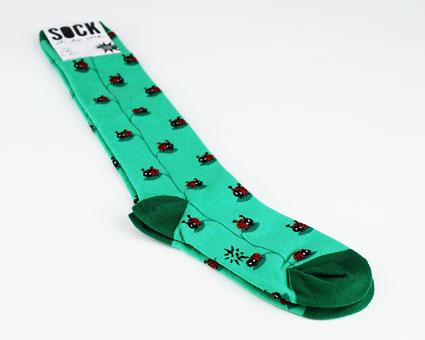 Ladybug Socks
