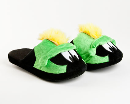 Marvin the Martian Character Slippers