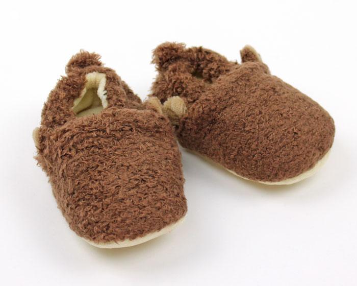 Monkey Baby Booties