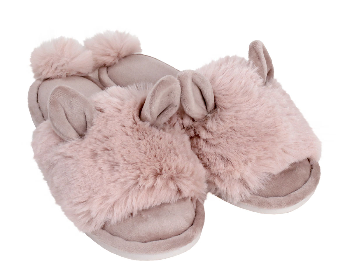 Pink Bunny Hop Slippers