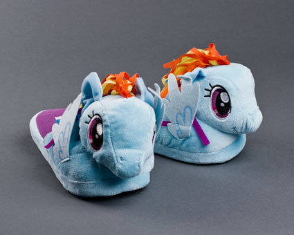 Rainbow Dash My Little Pony Slippers