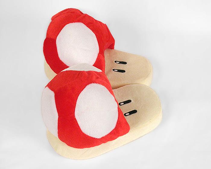 Red Mushroom Slippers