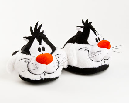 Sylvester Character Slippers
