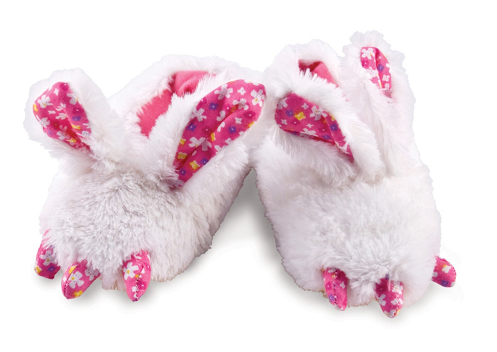 Toddlers Rabbit Feet Animal Slippers