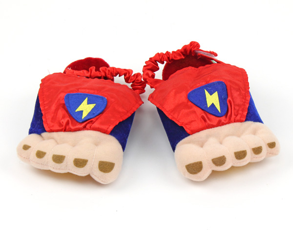 Toddler's Superhero Feet Slippers