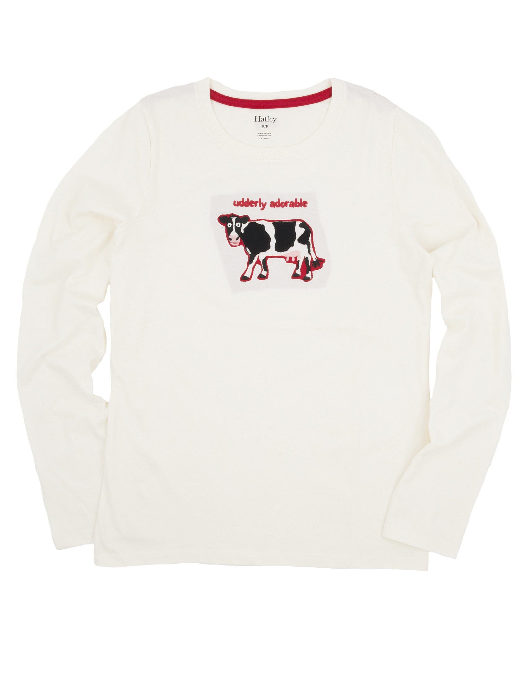 Udderly Adorable Cow LS Pajama Top