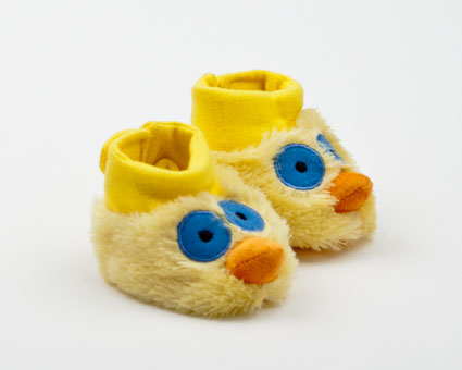 Yellow Bird Clucky Booties