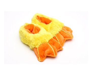 Toddler's Duck Feet Slippers