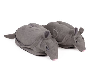 Armadillo Animal Slippers