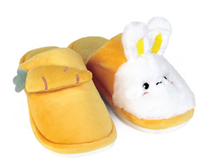 Bunny and Carrot Slippers