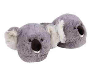 Fuzzy Koala Slippers