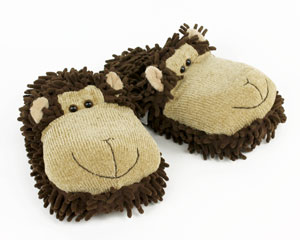 Monkey Slippers