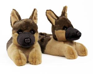 German Shepherd Slippers