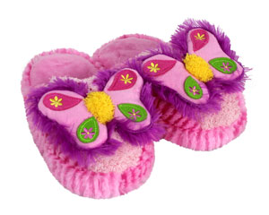 Kids Butterfly Slippers