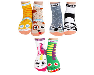 Funky Friends Socks Set of Six