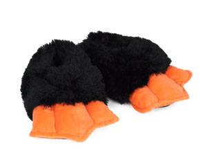 Kids Penguin Feet Slippers With Sound