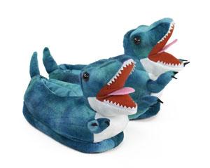 Kids T-Rex Dinosaur Slippers