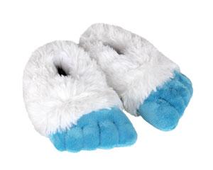 Kids Abominable Snowman Yeti Feet Slippers