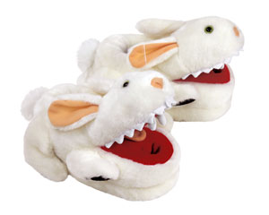 Monty Python Killer Rabbit Slippers