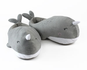 Nari Narwhal Heated Slippers