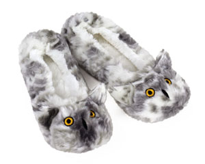 Owl Sock Slippers