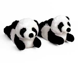 Panda Bear Slippers