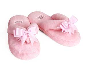 Pink Spa Slippers