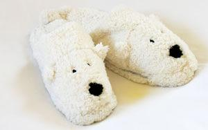 Polar Bear Animal Slippers