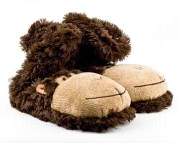 Monkey Sock Slippers