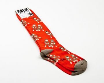 Sock Monkey Socks