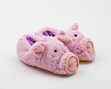 Toddlers Piglet Animal Slippers