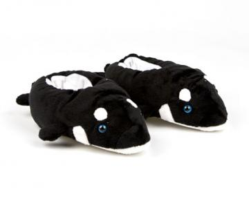 Kids Killer Whale Slippers with Sound