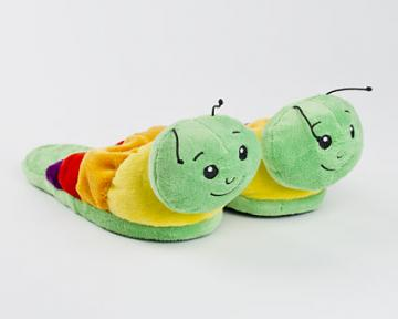 Caterpillar Slippers