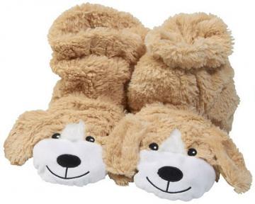 Microwaveable Dog Sock Slippers