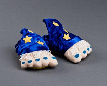 Toddlers Wizard Feet Slippers