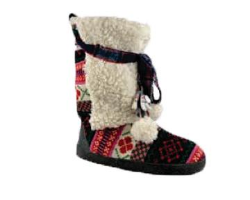 Jewel Slipper Boots