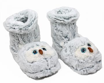 Snowy Owl Sock Slippers