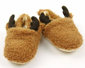 Moose Baby Booties