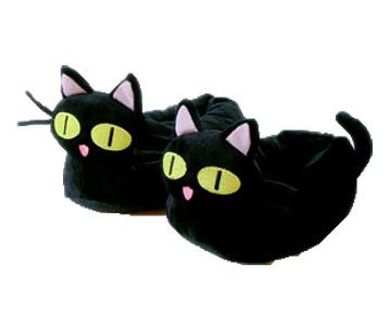 Kuroneko Cat Slippers