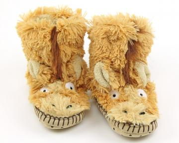 Kids Horse Slouch Slippers