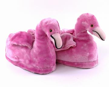 Pink Flamingo Slippers