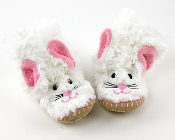 Children's Bunny Slouch Slippers