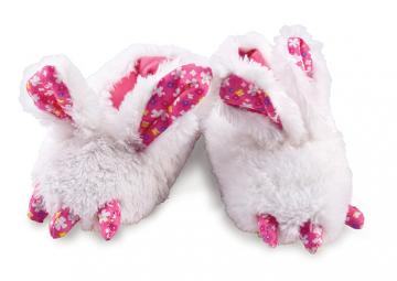 Toddler's Rabbit Feet Animal Slippers
