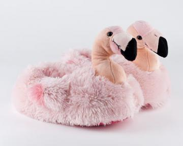 Toddler's Flamingo Slippers