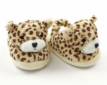 Children's Cheetah Slippers