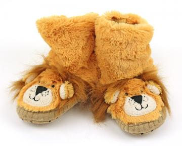 Kids Lion Slouch Slippers