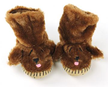 Dog Slouch Slippers