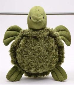 Plush Turtle Backpack