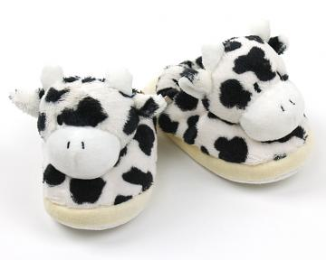 Toddlers Cow Slippers
